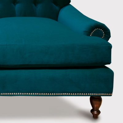 Kennedy Tufted Roll Arm Sectional