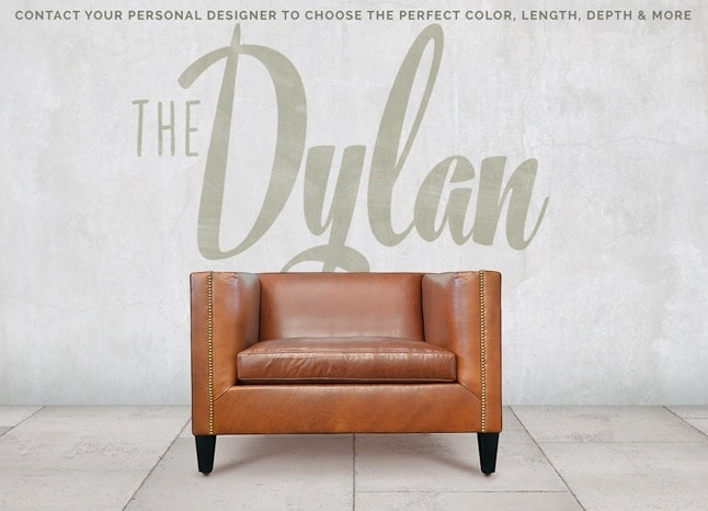 Dylan Mid-Century Custom Chair