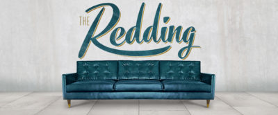 The Redding: Mid-Century Knoll Style Leather Sofa