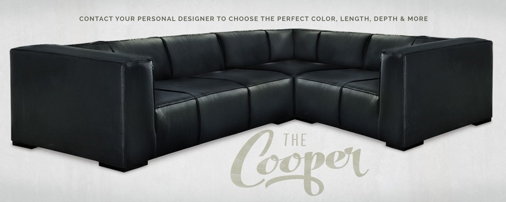 Cooper: Fullham Style Sectional Sofa