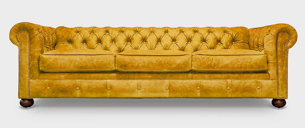 Irving Clic Gold Suede Chesterfield Sofa S Full 1010x424