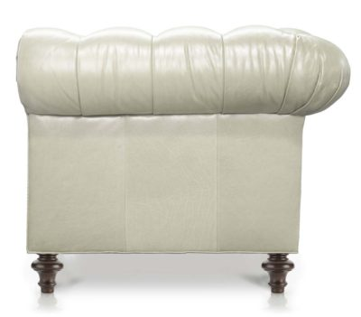 Chesterfield In Ivory Leather
