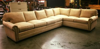 Custom American Made Roosevelt Sectional Sofa