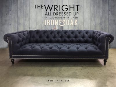 The Wright: All Dressed Up In Luxurious Irish Linen